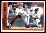 1997 Topps #418  Sandy Martinez  Front Thumbnail