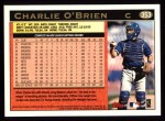 1997 Topps #353  Charlie O'Brien  Back Thumbnail