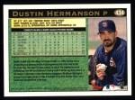 1997 Topps #434  Dustin Hermanson  Back Thumbnail