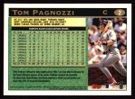 1997 Topps #2  Tom Pagnozzi  Back Thumbnail