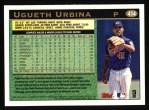 1997 Topps #414  Ugueth Urbina  Back Thumbnail
