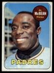 1969 Topps #14  Al McBean  Front Thumbnail