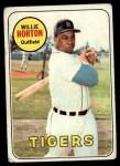 1969 Topps #180  Willie Horton  Front Thumbnail