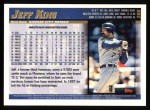 1998 Topps #286  Jeff King  Back Thumbnail