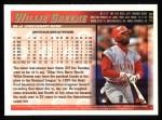 1998 Topps #104  Willie Greene  Back Thumbnail