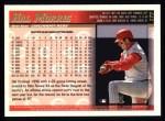 1998 Topps #177  Hal Morris  Back Thumbnail
