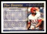 1998 Topps #376  Tom Goodwin  Back Thumbnail