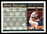 1998 Topps #347  Mark Bellhorn  Back Thumbnail