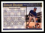 1998 Topps #384  Carlos Delgado  Back Thumbnail