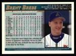 1998 Topps #471  Brent Brede  Back Thumbnail