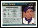 1998 Topps #348  Cory Lidle  Back Thumbnail