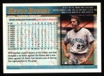 1998 Topps #6  Kevin Brown  Back Thumbnail