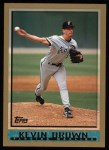 1998 Topps #6  Kevin Brown  Front Thumbnail