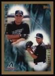 1998 Topps #498  Jhensy Sandoval / Vladimir Nunez  Front Thumbnail