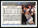 1998 Topps #312  Tim Salmon  Back Thumbnail