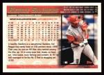 1998 Topps #364  Reggie Sanders  Back Thumbnail