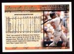 1998 Topps #363  Geronimo Berroa  Back Thumbnail