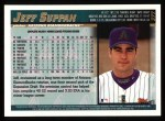 1998 Topps #377  Jeff Suppan  Back Thumbnail