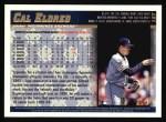 1998 Topps #187  Cal Eldred  Back Thumbnail