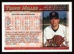1998 Topps #339  Travis Miller  Back Thumbnail