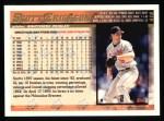 1998 Topps #416  Scott Erickson  Back Thumbnail