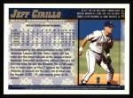 1998 Topps #327  Jeff Cirillo  Back Thumbnail