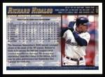 1998 Topps #461  Richard Hidalgo  Back Thumbnail