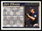 1998 Topps #385  Jeff D'Amico  Back Thumbnail