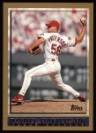 1998 Topps #48  Danny Patterson  Front Thumbnail