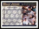 1998 Topps #131  Wally Joyner  Back Thumbnail
