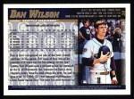 1998 Topps #38  Dan Wilson  Back Thumbnail
