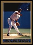 1998 Topps #222  Jose Offerman  Front Thumbnail