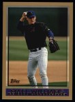 1998 Topps #439  Matt Williams  Front Thumbnail