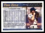 1998 Topps #102  Todd Zeile  Back Thumbnail