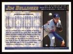 1998 Topps #221  Jim Bullinger  Back Thumbnail