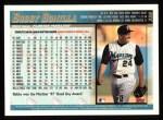 1998 Topps #356  Bobby Bonilla  Back Thumbnail