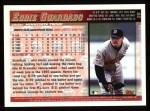 1998 Topps #28  Eddie Guardado  Back Thumbnail