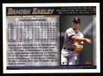 1998 Topps #147  Damion Easley  Back Thumbnail