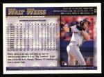 1998 Topps #96  Walt Weiss  Back Thumbnail