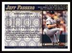 1998 Topps #342  Jeff Fassero  Back Thumbnail