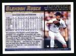 1998 Topps #231  Glendon Rusch  Back Thumbnail