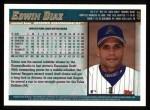 1998 Topps #465  Edwin Diaz  Back Thumbnail