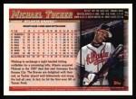 1998 Topps #19  Michael Tucker  Back Thumbnail
