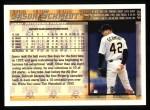 1998 Topps #445  Jason Schmidt  Back Thumbnail