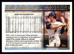 1998 Topps #44  Gary DiSarcina  Back Thumbnail