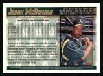 1998 Topps #236  Jason McDonald  Back Thumbnail