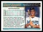 1998 Topps #98  Kurt Abbott  Back Thumbnail
