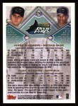 1998 Topps #250  Jared Sandberg / Alex Sanchez  Back Thumbnail