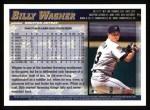 1998 Topps #3  Billy Wagner  Back Thumbnail