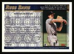 1998 Topps #202  Russ Davis  Back Thumbnail